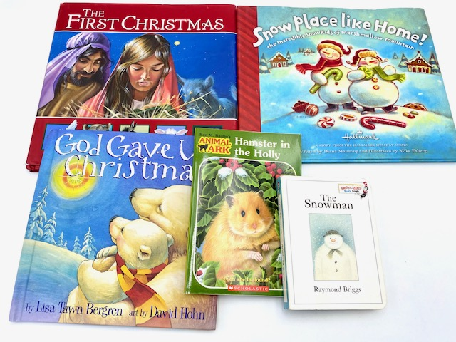 Image for Bundle of 5 Holiday / Winter Themed Story Books