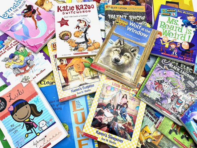 Image for Lot of 10 Children's Scholastic Chapter Books
